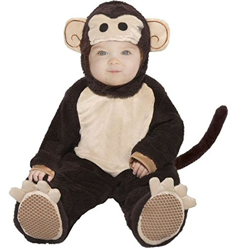 Baby Mischievous Monkey Costumes (Mischievous Baby Monkey Halloween Costume, Ages 18 Months - 2 Years)
