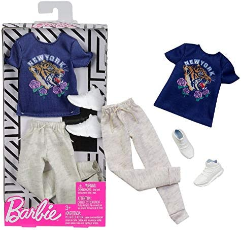 Barbie Chill Outfit | Ken Trend Fashion Mattel FXJ41 | Ropa para ...