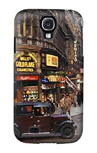 S0181 Old London Vintage Case Cover for Samsung Galaxy S4 mini