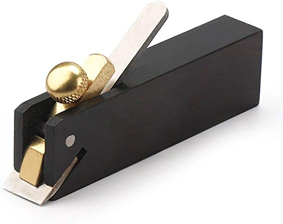 Hand Plane Hand Tools Wood Woodwork Carpentry Planer Brass Screws 75x12x20MM