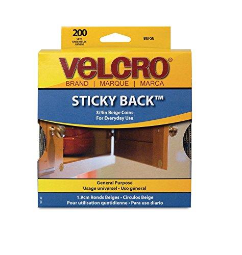VEK90140 - Velcro 90140 Sticky Back Hook Loop Dot Rolls