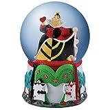 100mm Multi-Colored Alice in Wonderland Queen of Hearts Water Globe