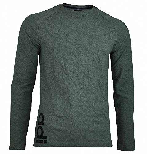 Adidas Originals DP Tee LS Mens Longshirt Stretch Herren Langarm T-Shirt Grau