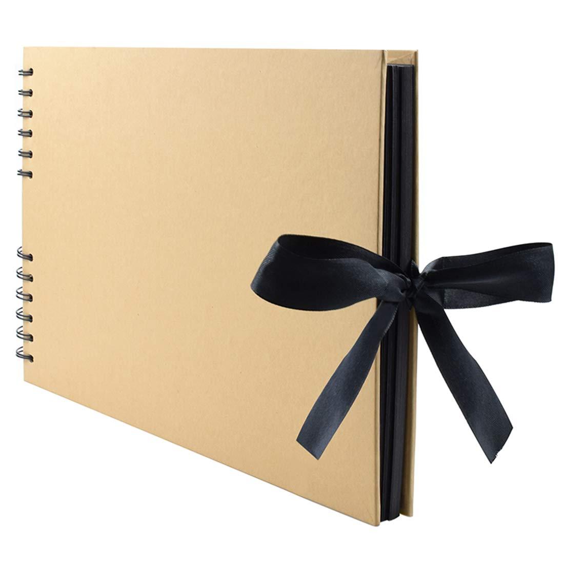 Tosnail 80 Pages Scrapbook Album Photo Album Memory Book 11.5 x 8
