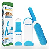 Pet Hair Remover Brush Furniture Clothes Fur Lint Removal Brush with Self-Cleaning Base