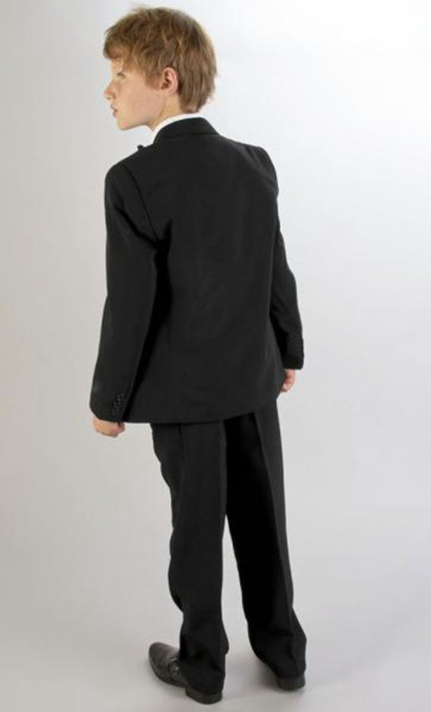 MLT Boy's Wedding Suits Three Pieces Party Prom Tuexdos (2S) by MLT (Image #3)
