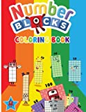 Numberblocks Coloring Book: Numberblocks 1 to 100