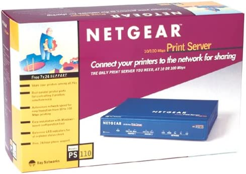 B00000JBHF Netgear PS110 10/100 Print Server with 2 Parallel Ports 512ZSTQ8CFL.