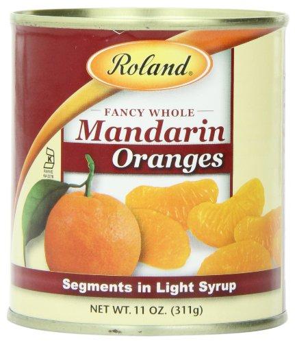 Roland Mandarin Oranges Segments Light