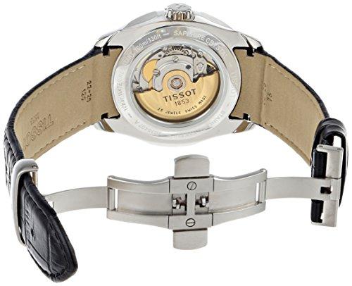 Armbanduhr Herren Couturier T0354071605100 Leder Tissot CBWxerdo