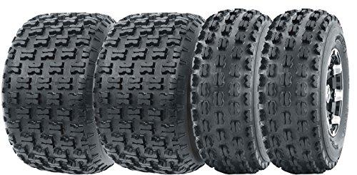 (Full Set Wanda ATV tires 21x8-9 21x8x9 front & 22x10-10 22x10x10 Rear 4PR)