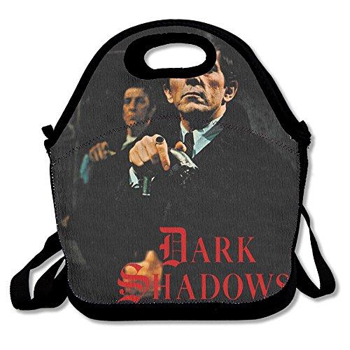 Dark Shadows Vampire Barnabas Collins Casual Lightweight College Backpack Laptop Bag School Travel (Angelique 1 Light)