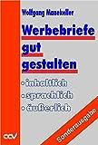 img - for Werbebriefe gut gestalten. Sonderausgabe. book / textbook / text book
