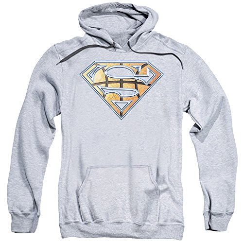 Superman DC Comics Basketball Shield Adult Pull-Over Hoodie
