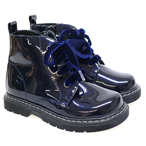 Zapatos Primeros Pasos Botas Botines Clarys 1415 Azul AZUL