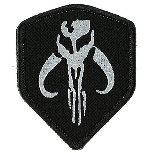 Stormtrooper Costume Star Wars Diy (Tactical Patch : STAR WARS Mandalorian Bantha Skull Mercenary (White on)