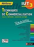 Toutes les matières IUT Techniques de Commercialisation – Semestre 3
