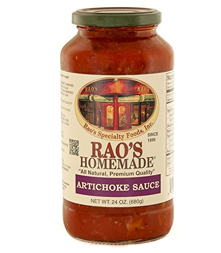 Rao's Homemade All Natural Artichoke Sauce, 24 Ounce (Pack of 4) by Rao's