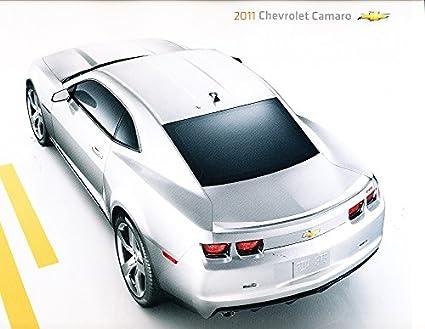 2011 Chevrolet Chevy Camaro Original Usa Sales Brochure Catalog Rs Ls Ss