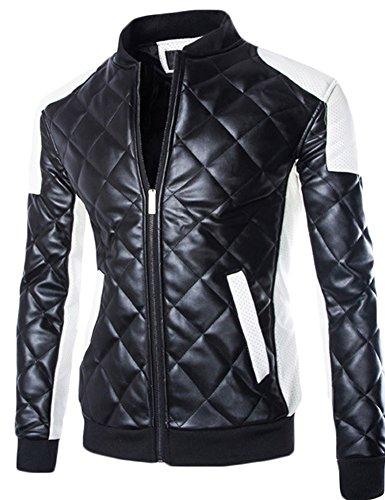 Vintage White Leather Jacket - 9
