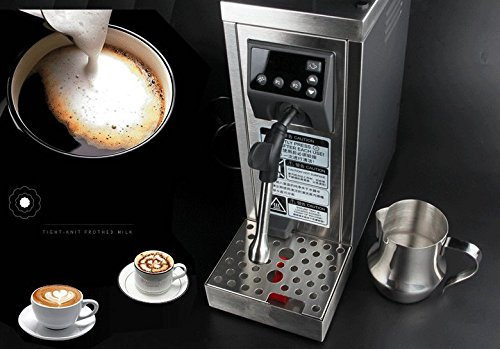 JIAWANSHUN Professional Espresso Coffee Milk Foam Machine Milk Frother Coffee Frothing Machine Milk Steamer Steam Coffee Milk Bubble Machine by JIAWANSHUN (Image #2)