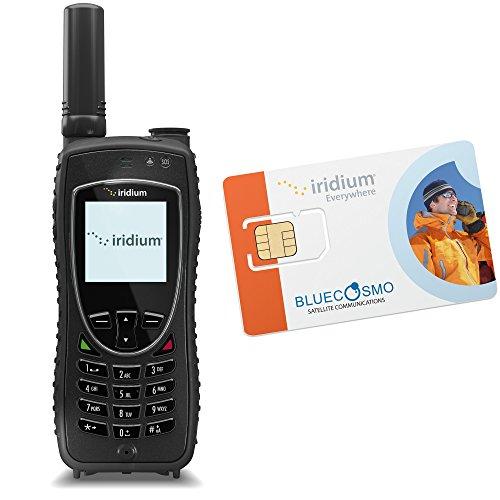 Bluecosmo Iridium Extreme Satellite Phone Kit   Monthly Service Plan Sim