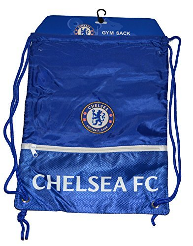 Chelsea Fc Gym Sack Bag Drawstring Backpack Cinch Bag Authentic Official NEW 2015 For Sale
