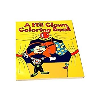 clown magic coloring book with how to instructions - Magic Coloring Book