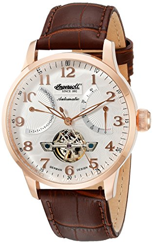 Ingersoll Men's IN6910RSL Stetson Ii Analog Display Automatic Self Wind Brown Watch