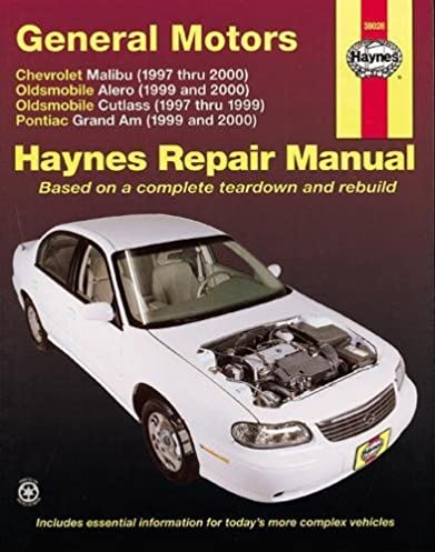 gm malibu alero cutlass grand am 1997 thru 2003 haynes rh amazon com 2003 pontiac grand am owners manual pdf 2003 pontiac grand am manual transmission