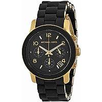 Michael Kors MK5191pista de la mujer Negro Acero Inoxidable Reloj