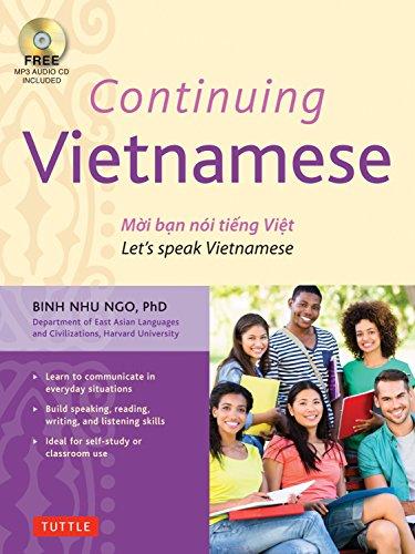 Continuing Vietnamese: Let's Speak Vietnamese (Audio CD-ROM Included) by imusti