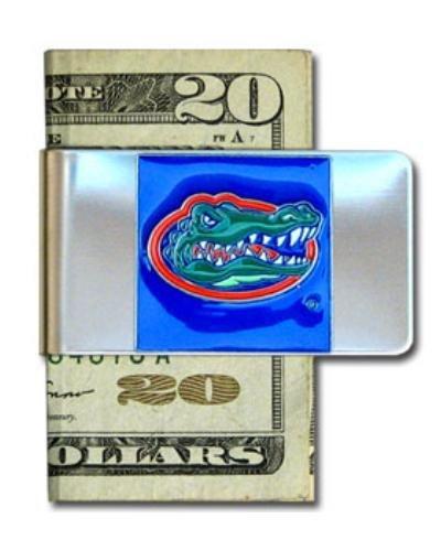 NCAA Florida Gators Steel Money Clip