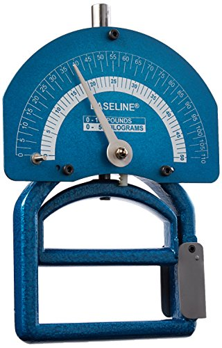 Baseline 12-0282 Dynamometer, Smedley Spring, Child, 110 lb Capacity by Baseline
