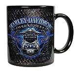 Harley-Davidson Police Original Ceramic Coffee Mug, 11 oz. Black...