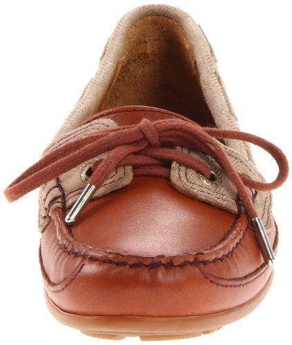 Sebago Damen Bala Slip-On Loafer Cognac / Beige
