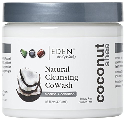 EDEN BodyWorks Coconut Shea Cleansing Cowash, 16oz- Packaging May Vary