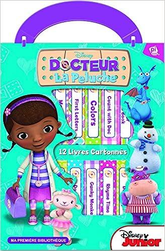 Livres gratuits à télécharger pdf Docteur La Peluche : Coffret 12 albums tout-carton 1450896243 CHM