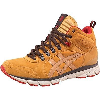 save off 501cf 3806d Mens Onitsuka Tiger Mens Harandia MT Boots Honey Mustard - Honey Brown Red -
