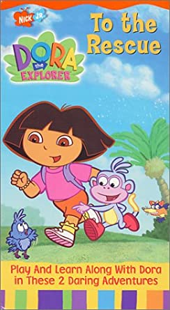 Amazon Com Dora The Explorer To The Rescue Vhs Tape Fatima