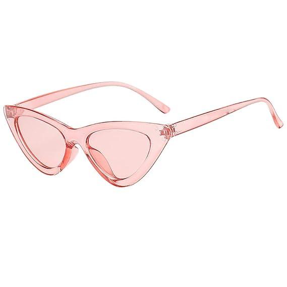 aa2f88fd0b Cebbay Espejo de Moda Polarizadas Ojo de Gato Gafas de Sol para Mujer Moda  Triángulo Ojo De Gato Vintage Lentes de Sol: Amazon.es: Ropa y accesorios