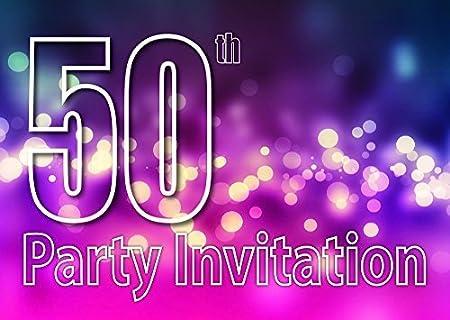 10 50 Temática Invitaciones Fiesta Cumpleaños Invitaciones ...