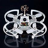 EMAX BabyHawk PNP 85mm Mirco FPV Racer Drone Brushless ( 1104 5000kv Brushless Motor,Femto F3 AIO Flight Controller FC,All-in-One Camera, VTX 25MW CMOS, Bullet 6A BLHeli_S Plug-In ESC )