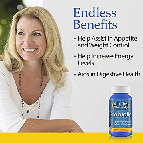 Nutrition Essentials #1 Rated Acidophilus Probiotic Digestive Health Supplement - Most CFU's per Bottle - (6 Pack of 60 Tablets) 100% Moneyback Guarantee (360 Tablets) by Nutrition Essentials (Image #5)