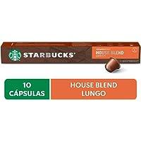 Starbucks by Nespresso, Café House Blend Lungo 10 cápsulas