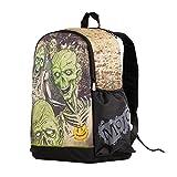 Korjo Luminous School Backpack Night Light Skull Design Cool Laptop Shoulder Bag Travel Rucksack Daypack for Boys and Girls Best Halloween Gift