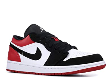 info for 379e6 3fcd1 Amazon.com | Jordan Air 1 Low (White/Black-Gym Red, 10 ...