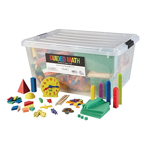 ETA hand2mind Guided Math by Reagan Tunstall, Grade 1 - Small Group Manipulative Kit