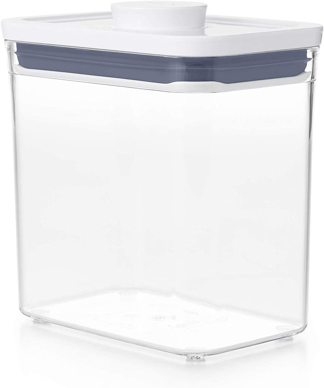 OXO GoodGrips POP Container - Airtight Food Storage - 1.7 Qt Rectangle (Set of 4) for Coffee and More