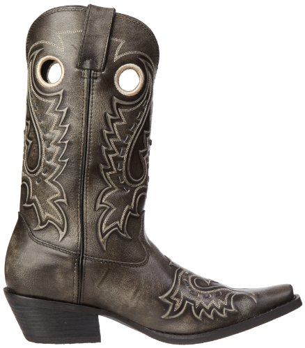 Durango Men's Gambler Boot,Charcoal,10.5 D (M) US